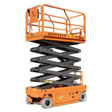 JET Battery Drive Scissor Lift Maintenance Platform