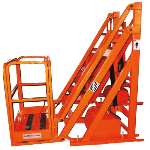 Fork Lift Attachment Work Platform