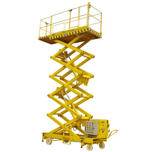 JET Hydraulic Powered Lifting Scissor Platform (Extended Platform) Goods Lift
