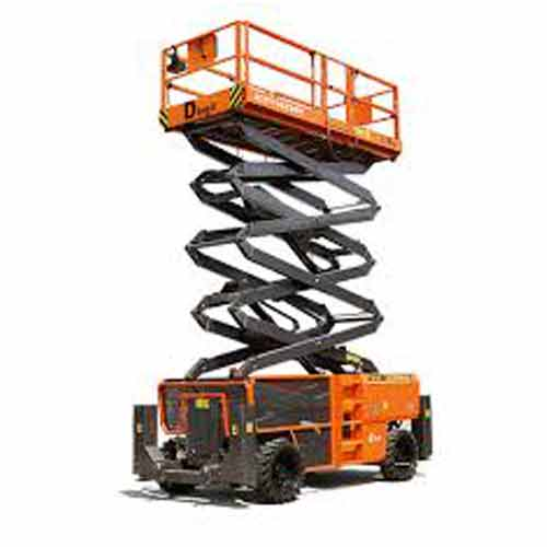 JET Mobile Scissor Lift