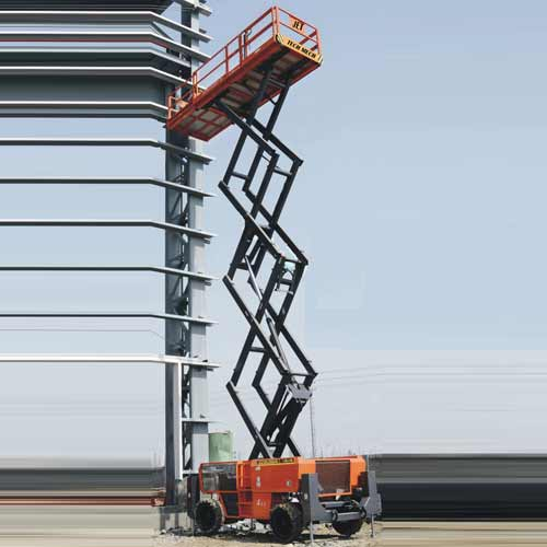 JET Rough Terrian Scissor Lift