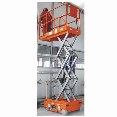 JET Self Propelled Scissor Lift